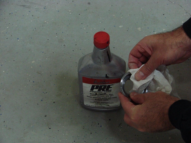 Soldering the Pop-up Gas Cap