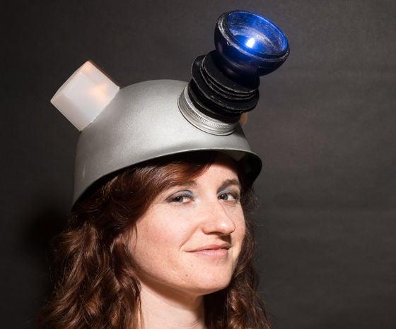 DIY Light Up Dalek Helmet