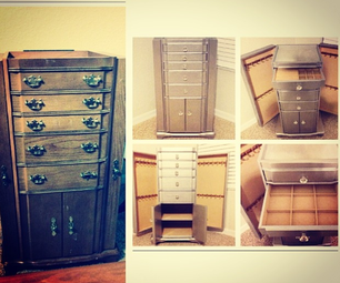 DIY Mirrored Jewelry Armoire: Look for Less