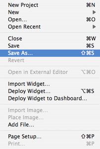 Import Into Your New Widget