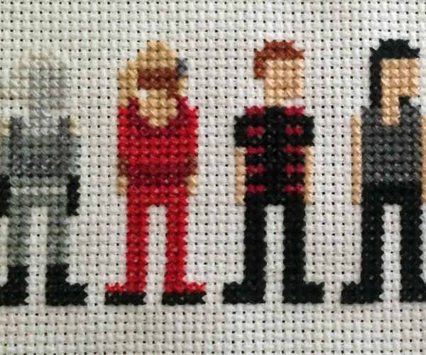 Farscape Cross Stitch: Season Two Characters