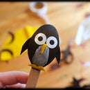 Penguins on a Stick
