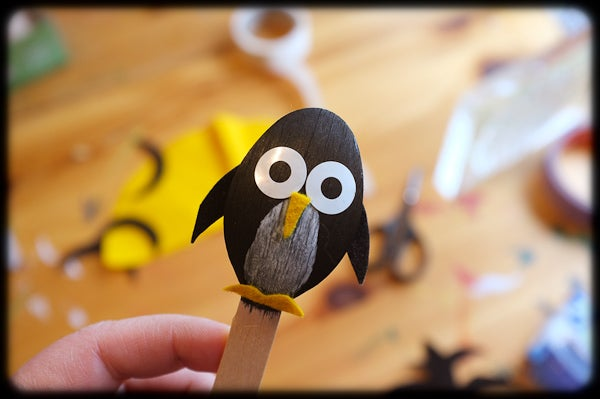 Penguins on a Stick