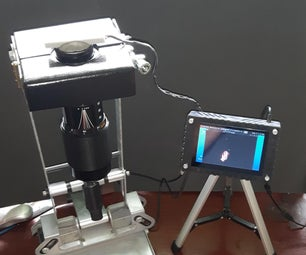 Soldering Microscope From SLR Zoom Lens and TV Wall Mount