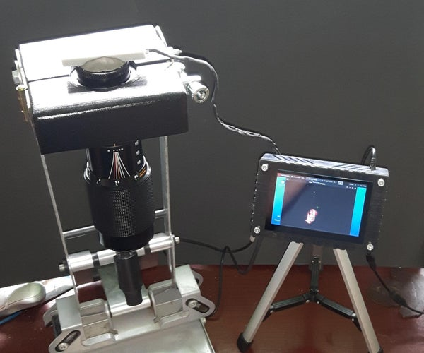 SLR变焦镜头和电视壁挂式焊接显微镜