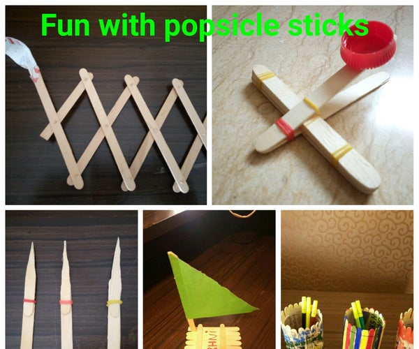 Fun With Popsicle Sticks for Kids