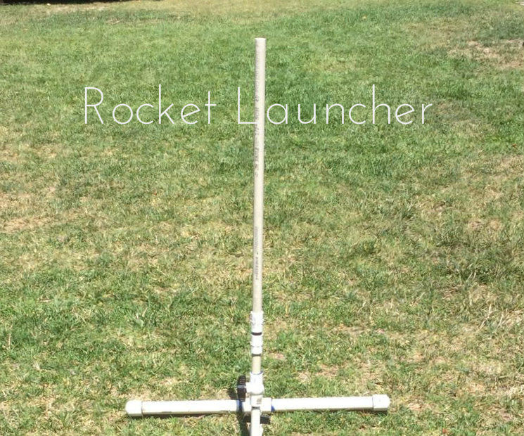 Compressed Air Rocket Launcher!