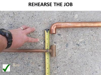 Rehearse the Job