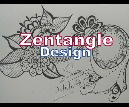 How to Draw Best Zentangle Design