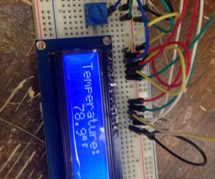 Digital Thermometer With Arduino