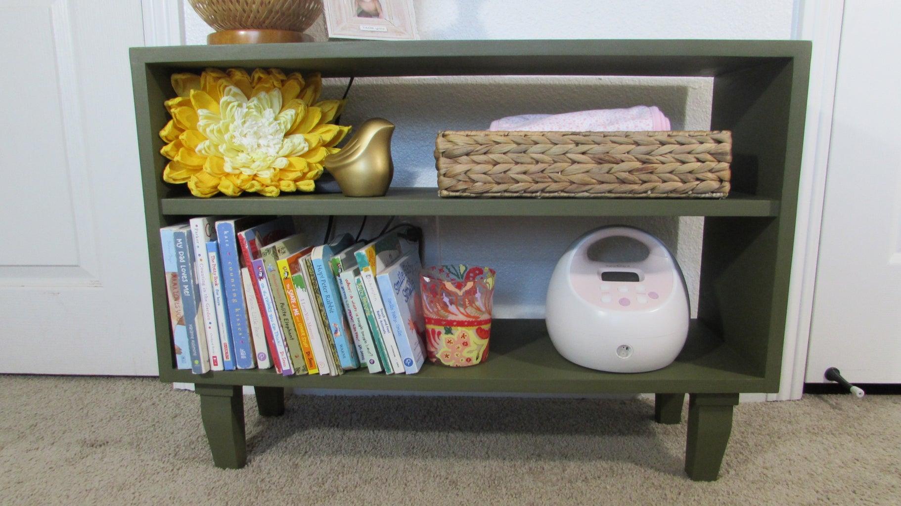 The Little Nursery Bookshelf