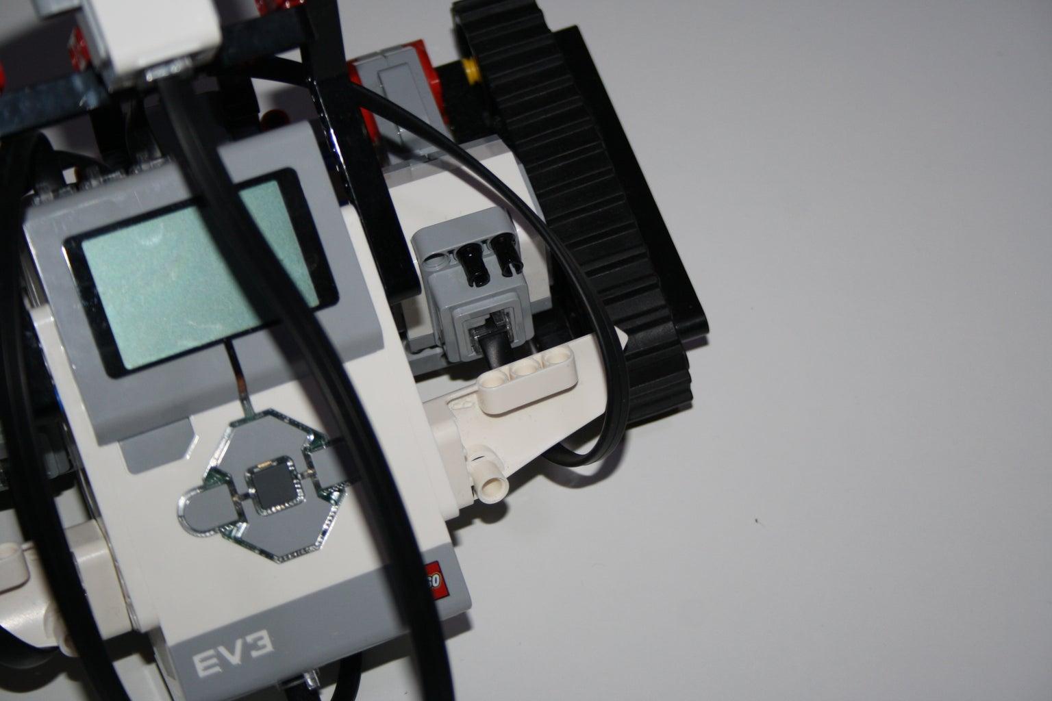 EV3 Block Could Be Detatched.