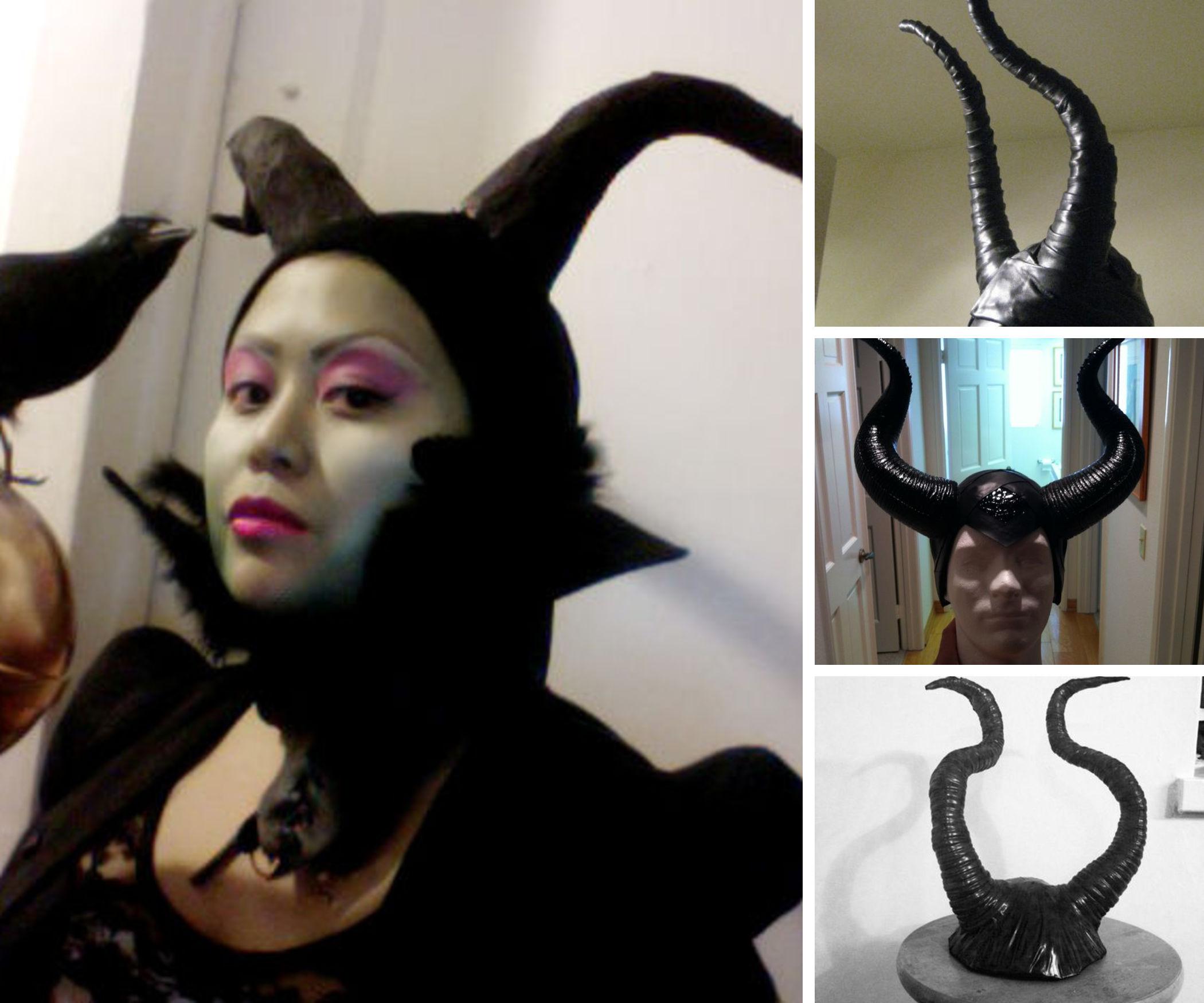 5 Ways to Make Maleficent Horns