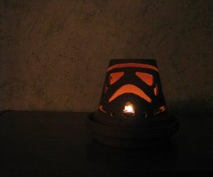 Terra Cotta Patio Light