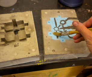 Making a Silicone and Ultracal Matrix Mold