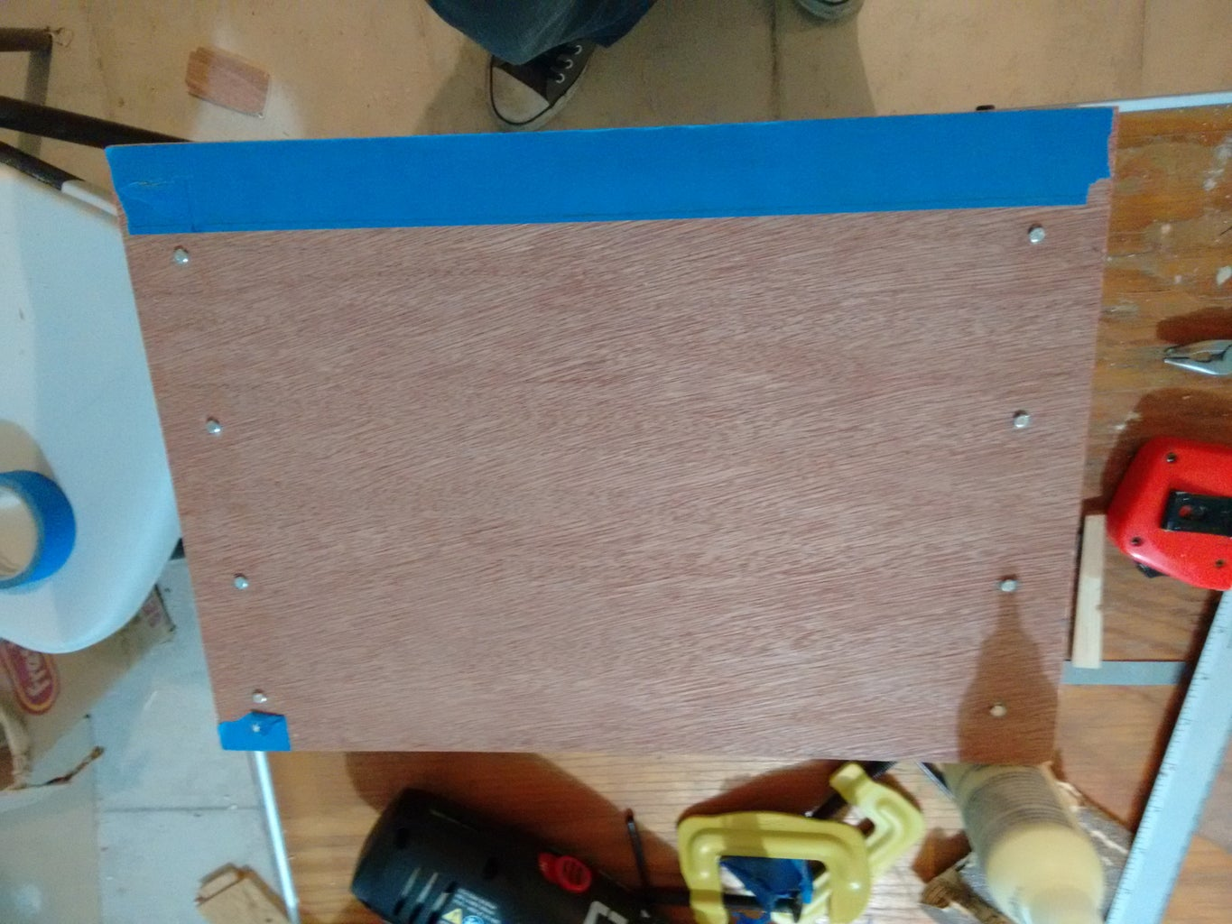 Drawer Cabinet Construction