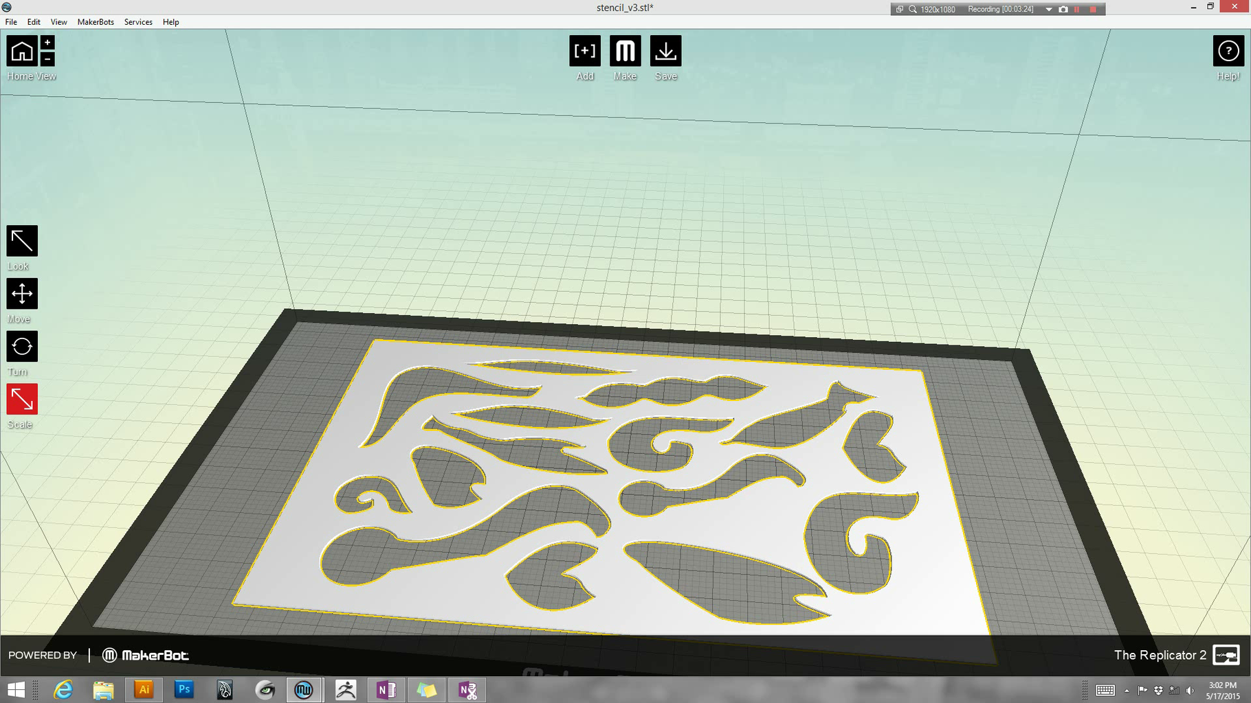 Open STL or OBJ in 3D Printing Software