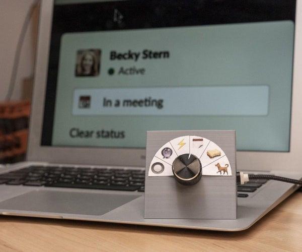 Slack Status Updater With ESP8266