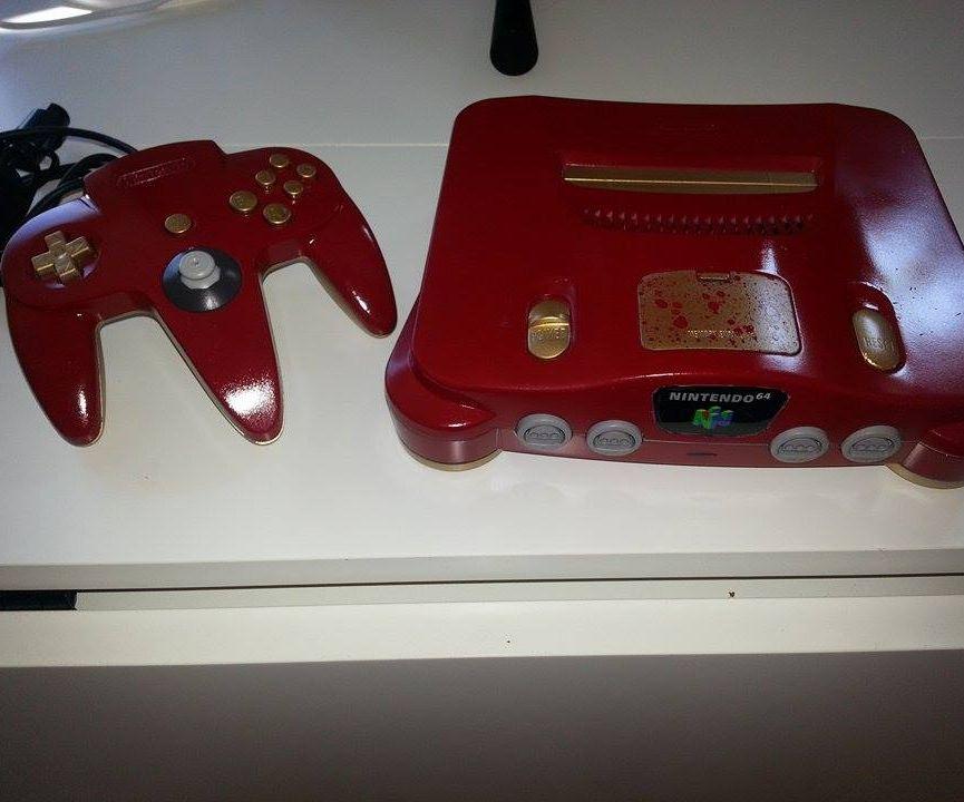 Custom N64 Iron Man