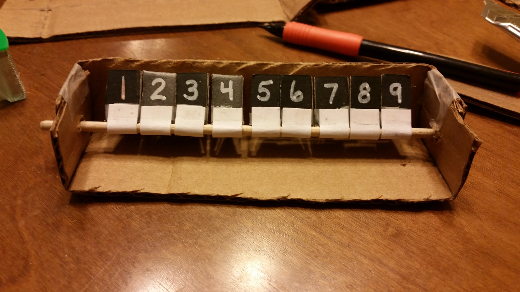 Shut the Box Game and Other Dice Game Party Favors
