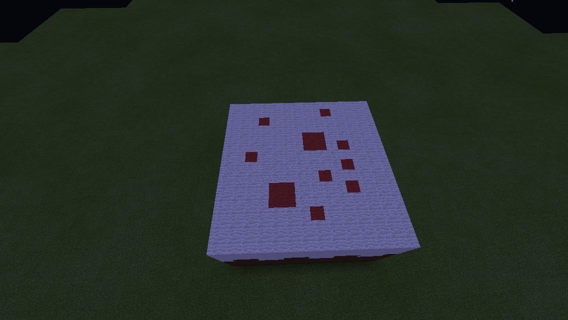 big Minecraft Cake