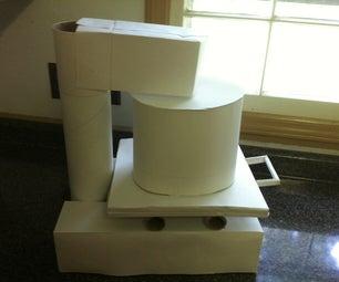 The Kitchen Machine 'Paper Model'!