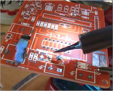 1.2 Use a Sharp Tip on Your Soldering Iron