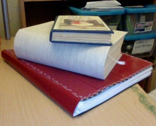 How to Bind a Paperback Into a Hardback (single Sheet Binding)