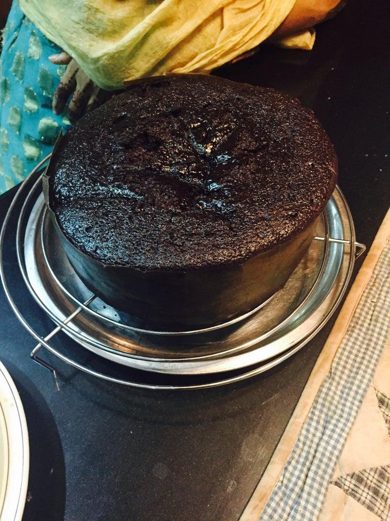 Chocolate Cake in Pressure Cooker