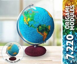 7220 Modules - Origami Globe