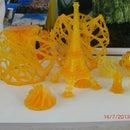 Impresora 3D DLP de alta resolución !CASERA¡ (impresora estereolitográfica 3D)