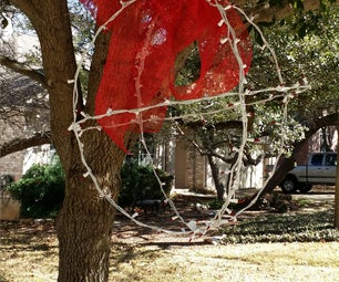 Giant Outdoor Christmas Tree Ornament