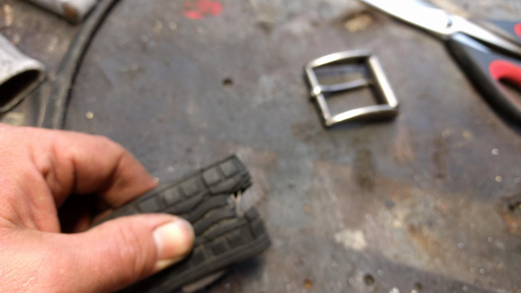 Mounting the Buckle