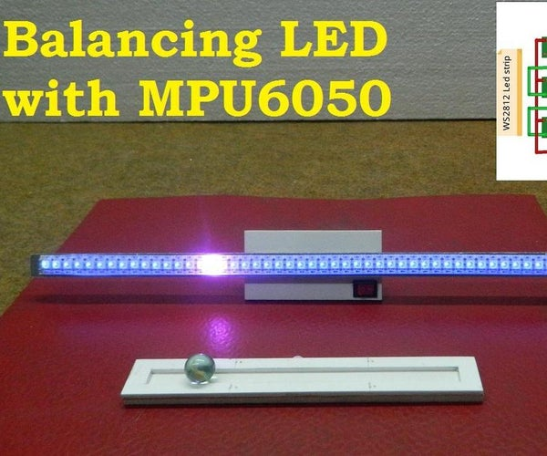 DIY Arduino Balancing Dot on Led Strip