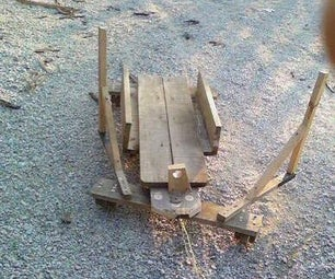 Downhill Wooden Vehicle