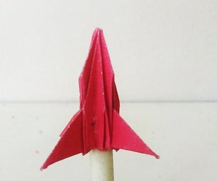 Tiny Rocket (that Actually Flies)