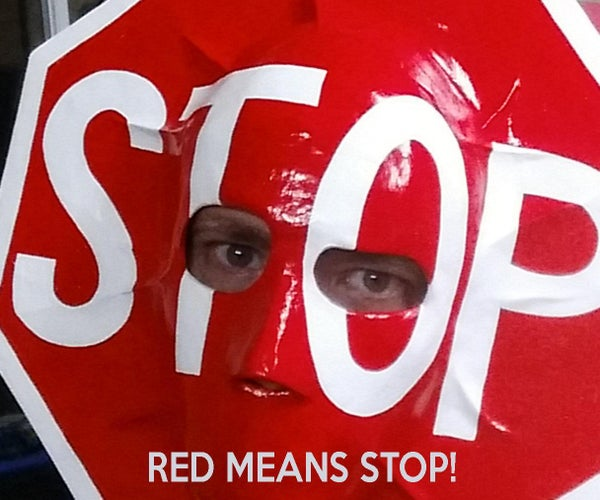 Stop Sign Mask