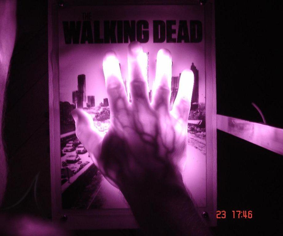 Zombie hands or the walking dead