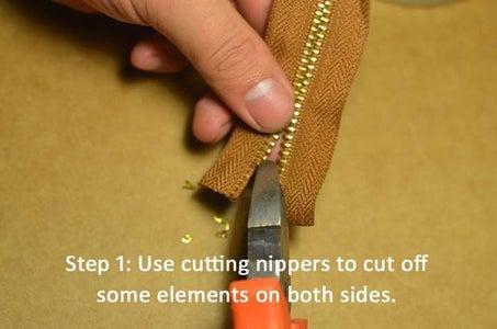 Let Me Show You How to Make a Close-end Zipper.