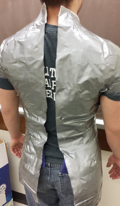 Cut Through the Shirt
