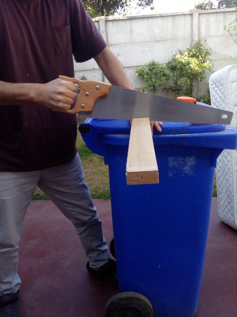 Cutting the Wood and Backboard