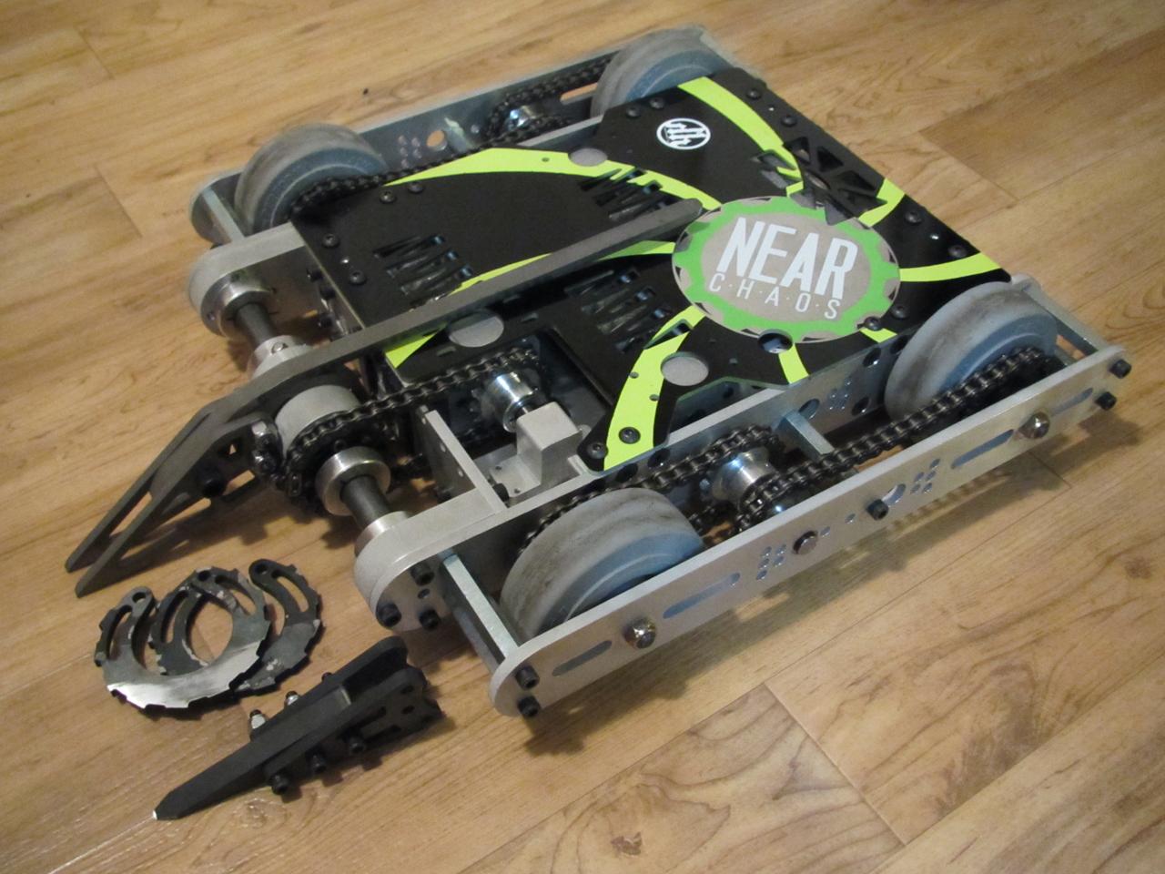 30lb Fighting Robot-Nyx