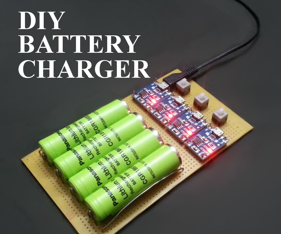 How To Make Battery Charger At Home 6 Steps With Pictures Instructables