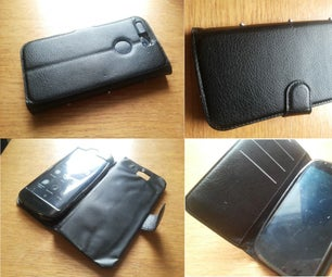 Create FlipCover for Dual Screen Phone/ Uncommon Phone From Other Phone's Flipcover (No Sew)