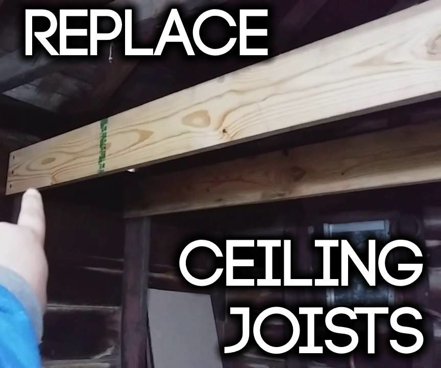 How to Replace Ceiling Joists