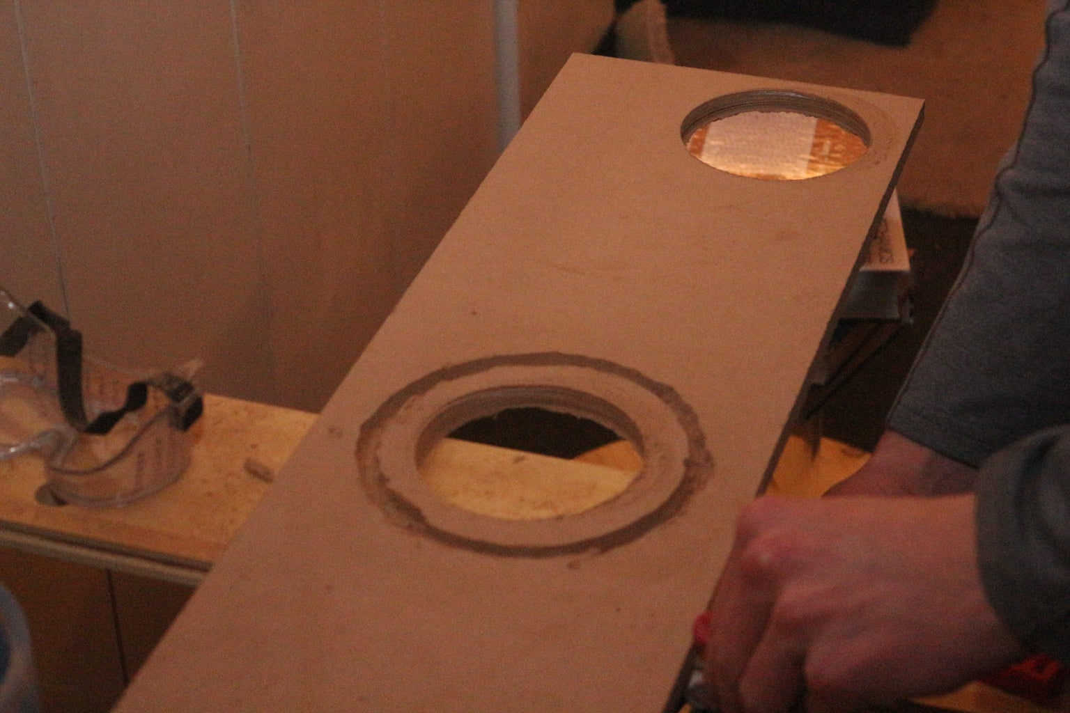 Preparing the Inner (spinning) Pipe and Its Handle