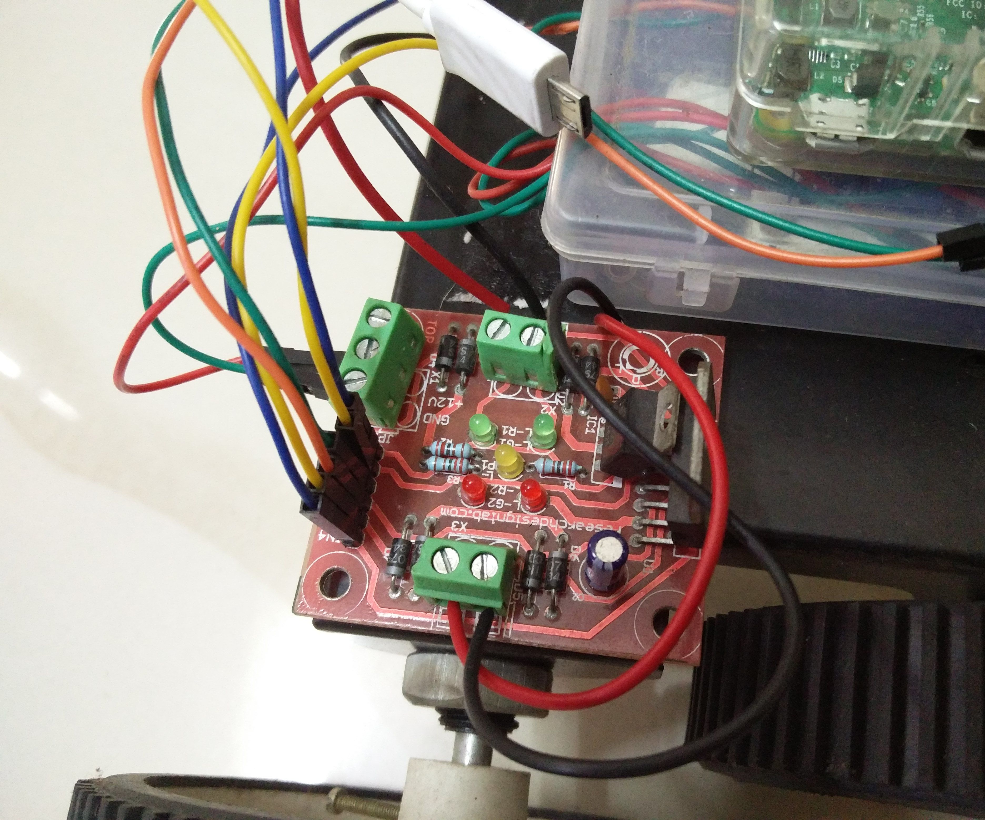 Wifi Controlled Robot using Raspberry Pi