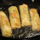 Stuffed kaleji rolls
