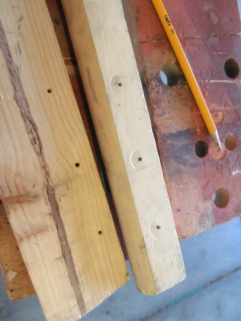 Mark and Drill the Holes.
