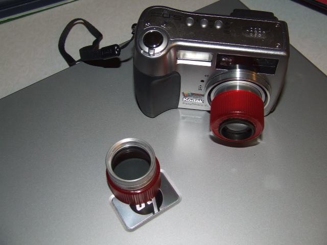 Macro Atachment for pocket digital camera